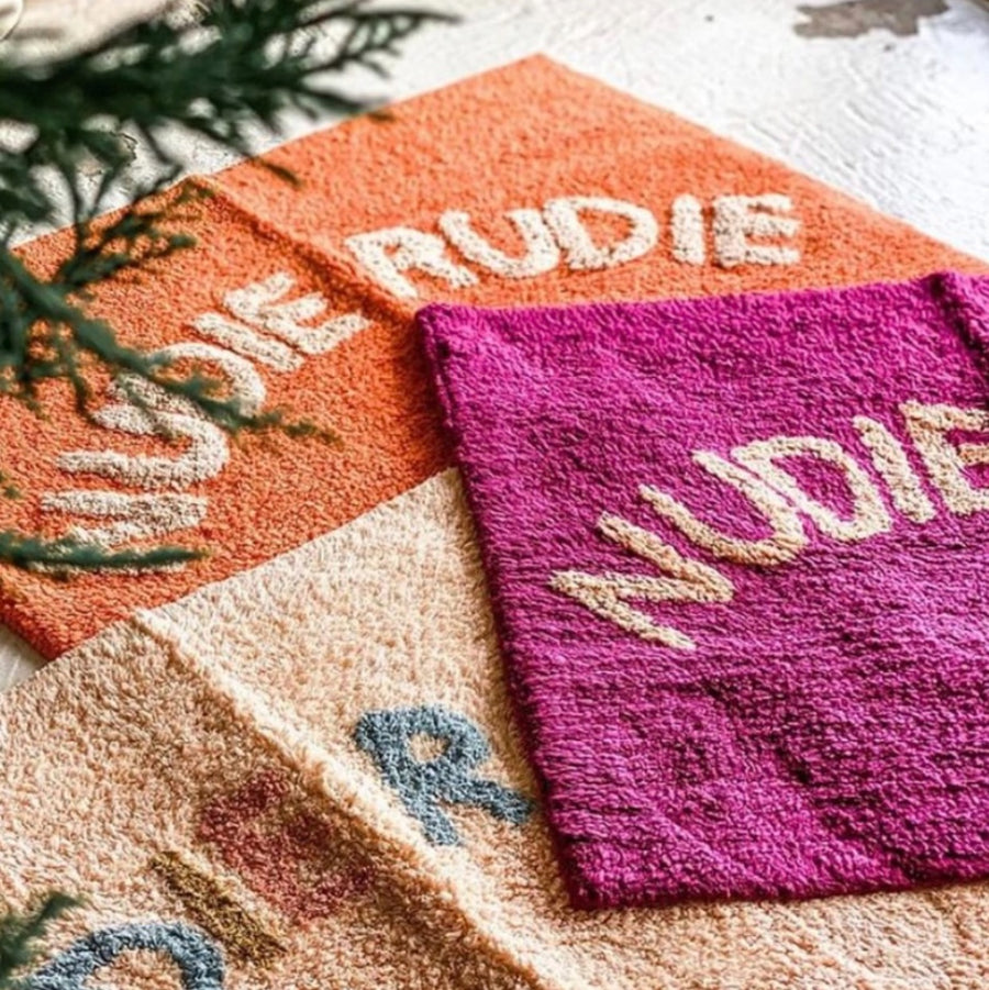 Nudie Rudie Bath Mat Blush