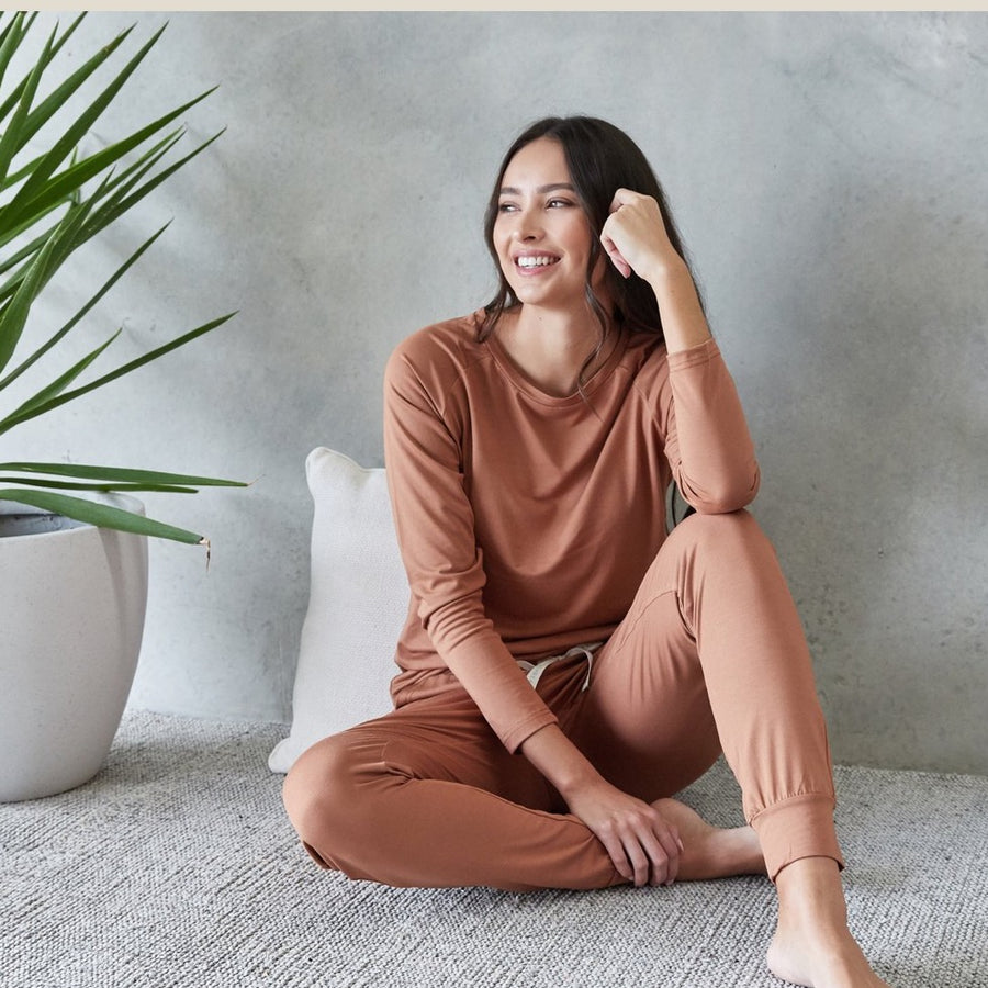 Sleepwear Set Ali Rust