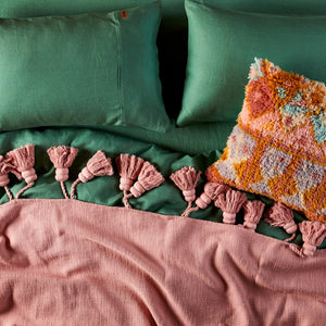 Pillowcase Agave Green Set 2