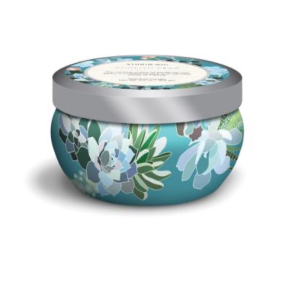 Candle Tin Floral