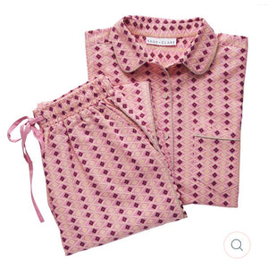 Sleepwear Set Linen Zadie