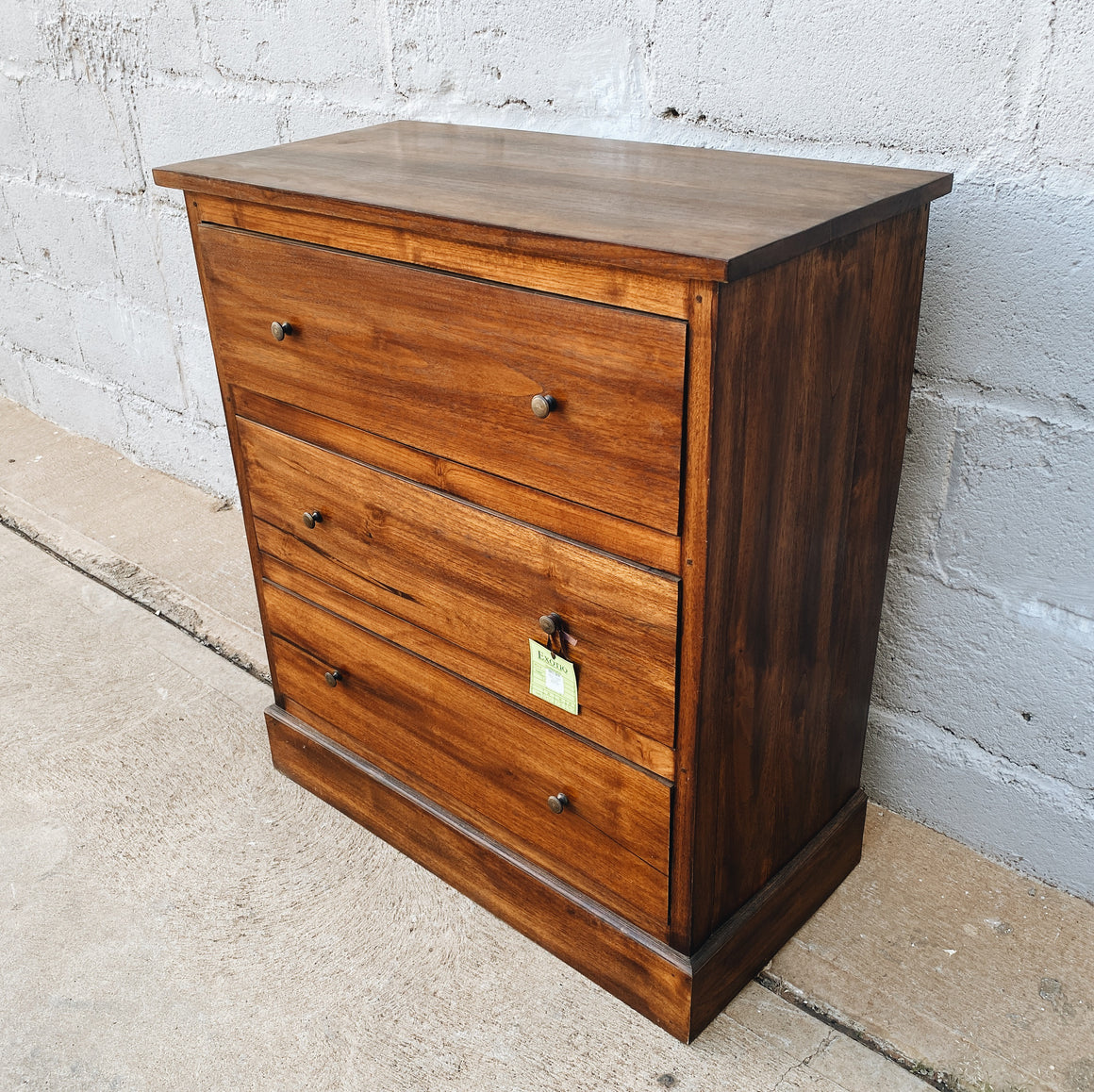 Tallboy Simple  3 Drawer