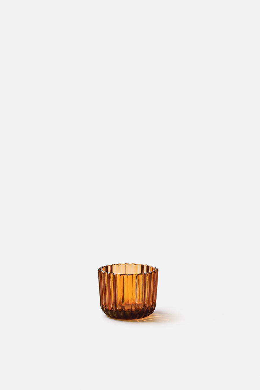 Tealight Holder Amber