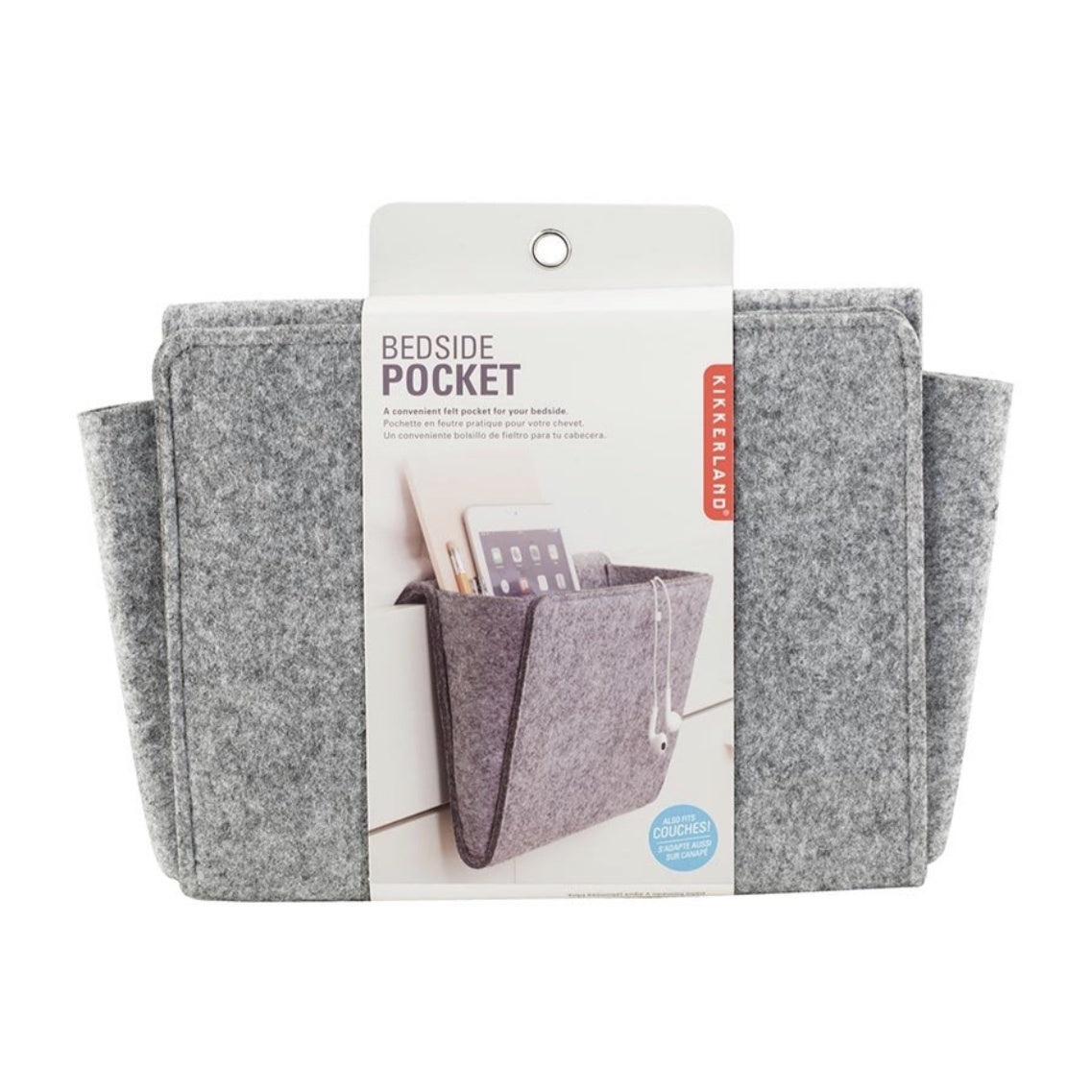 Bedside Pocket Greys