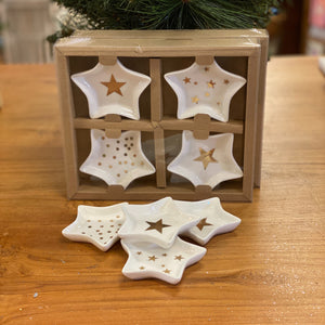 Star Plates Mini Set of 4