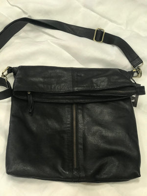 Handbag Leather Fold Top