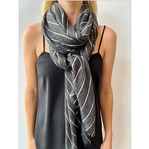 Scarf Vera Charcoal