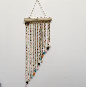 Wall Hanging Multi Beaded Small