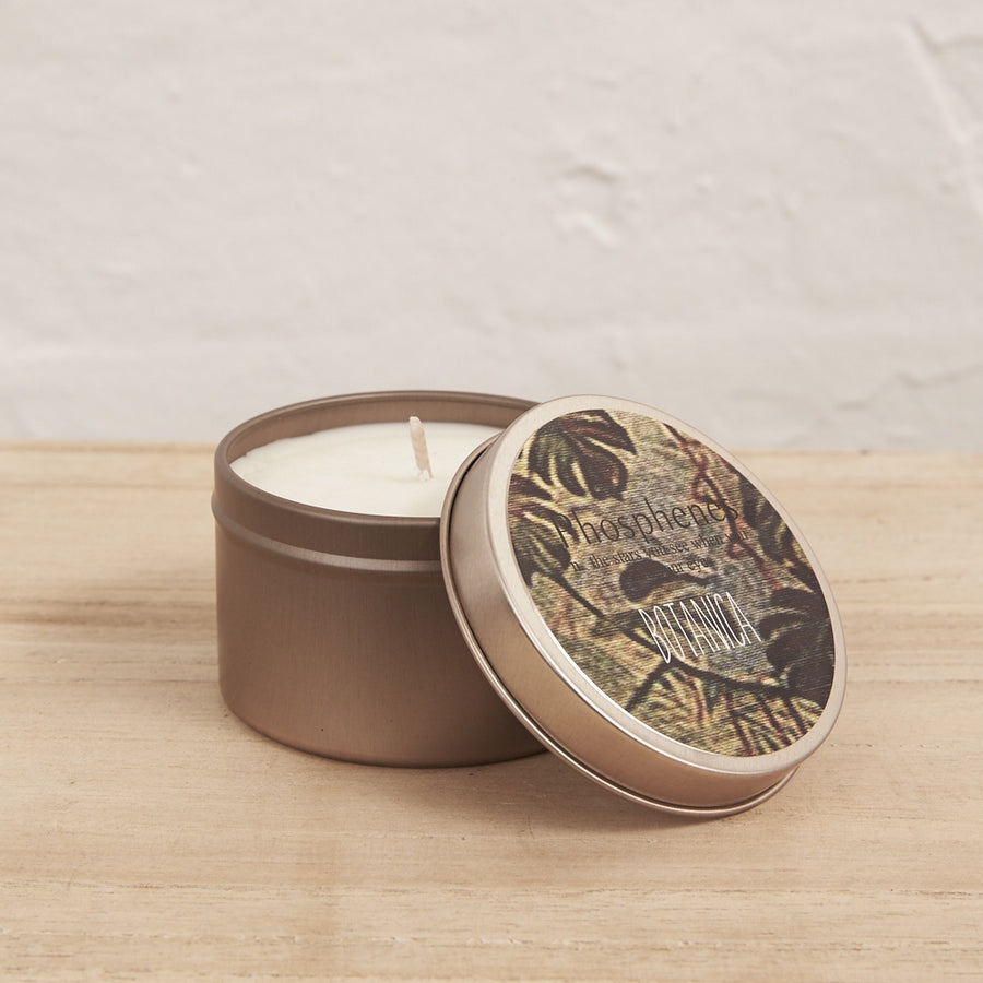 Soy Candle in Brass Tin