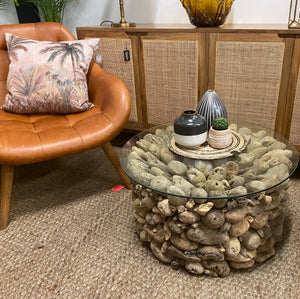 Coffee Table Driftwood Round