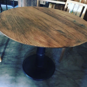 Dining Table Round 110cm Pedestal