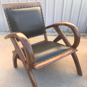 Chair Frog Leather