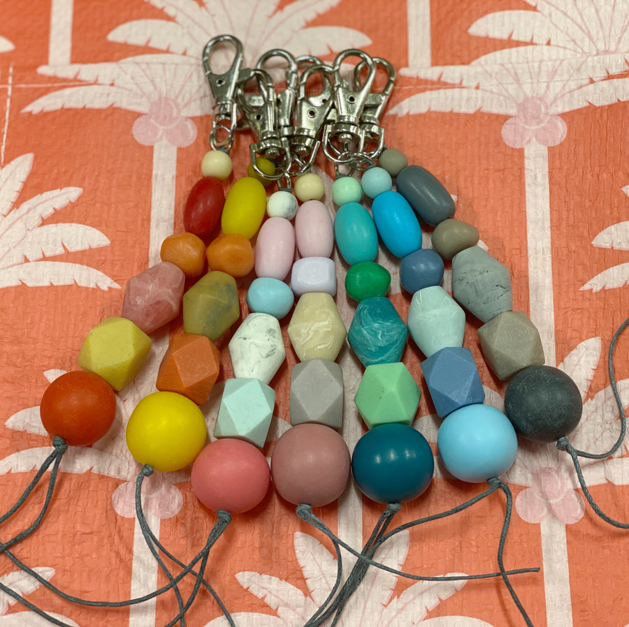 Keyring Resin Beads