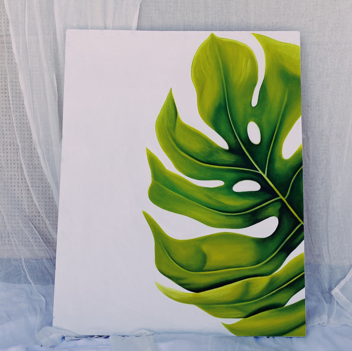 Art Philodendron Leaf