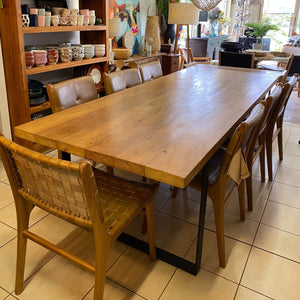 Dining Table Recycled Teakwood 250x100x5cm