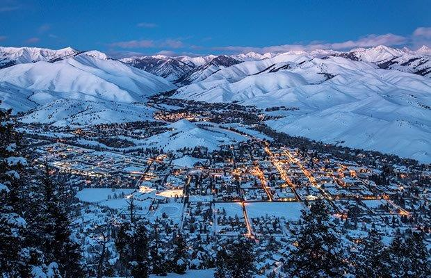 Sun Valley, Not What You Expect From Idaho