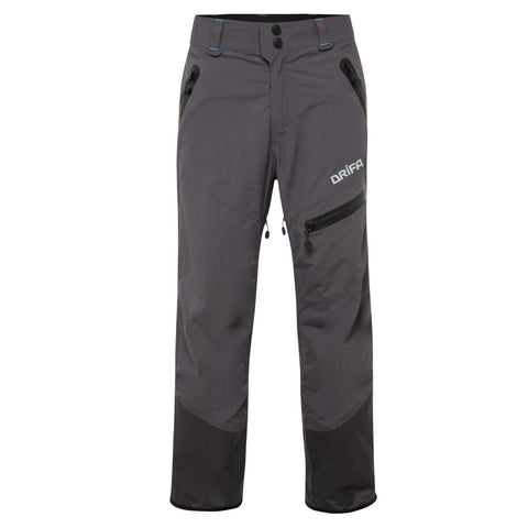 mens DRIFA charcoal ski pants