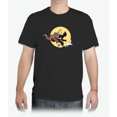 tintin - Mens T-Shirt