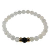 Divine Diffuser Bracelet | Moonstone and 14K Gold