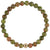 Grounded Strength Bracelet | Unakite and Gold