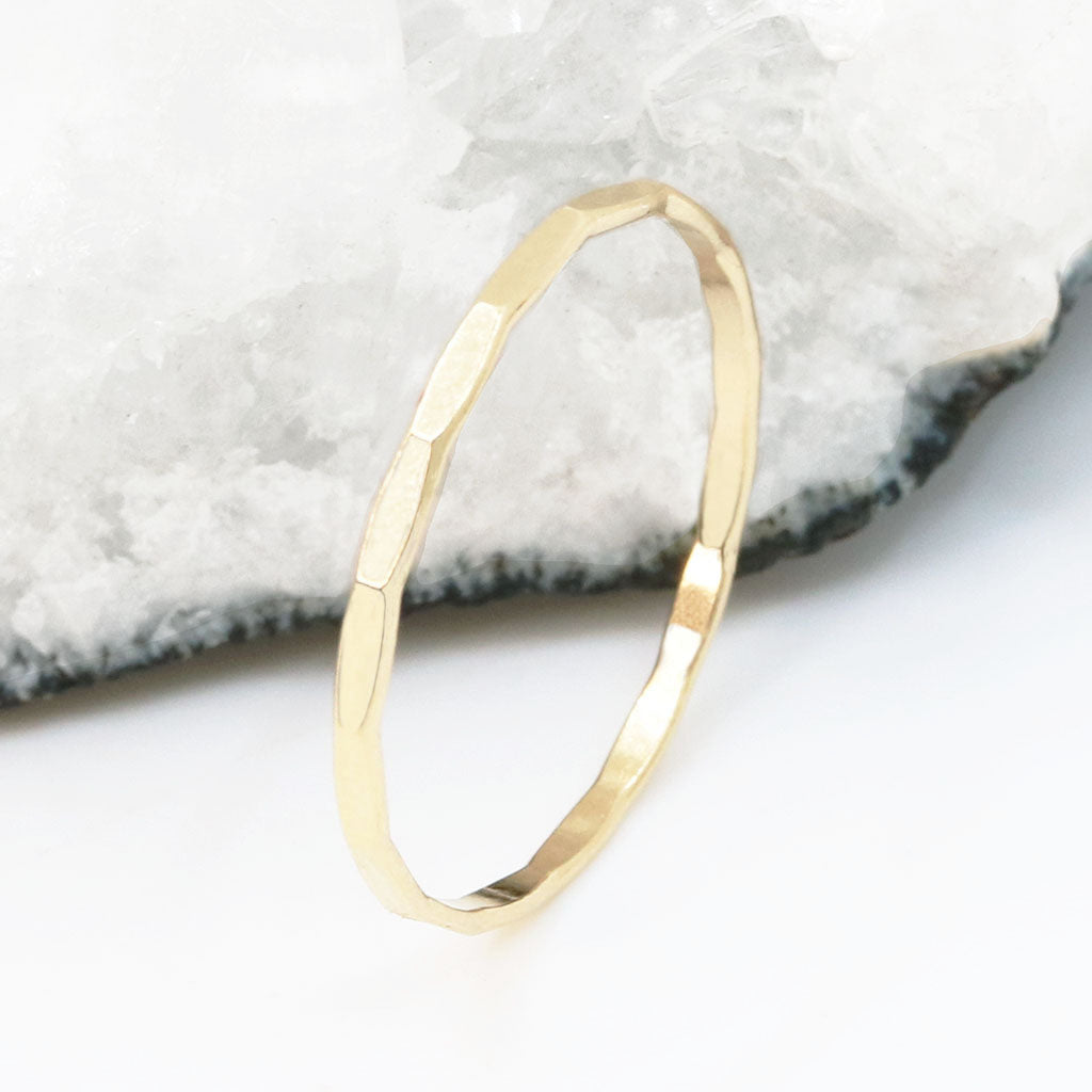 Dainty Gold Ring Duo