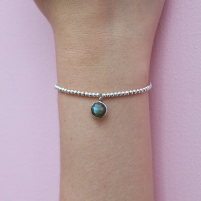 Charmed and Enchanted Bracelet | Labradorite and Silver