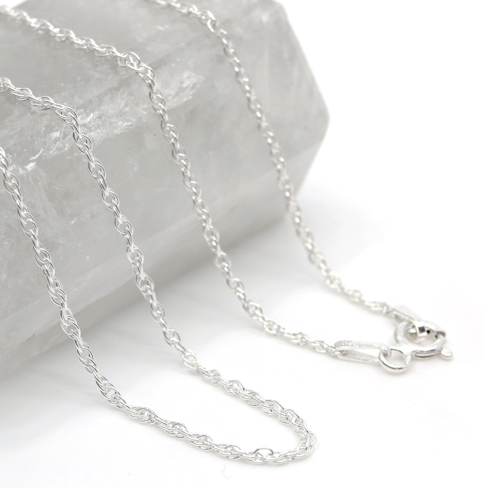 Classic Silver Rope Chain