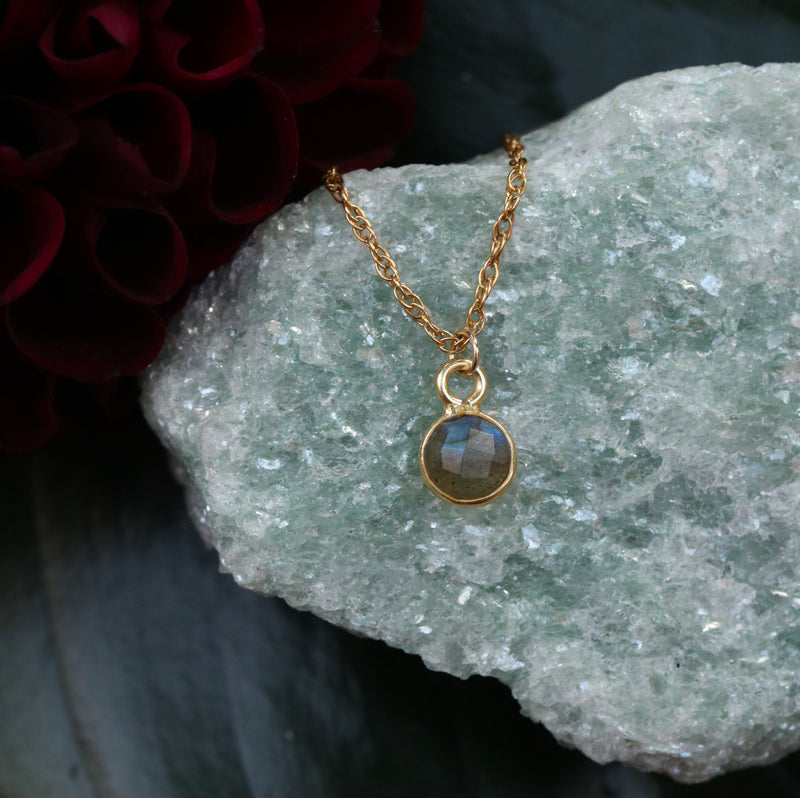 Charmed and Enchanted Mini | Labradorite and Gold