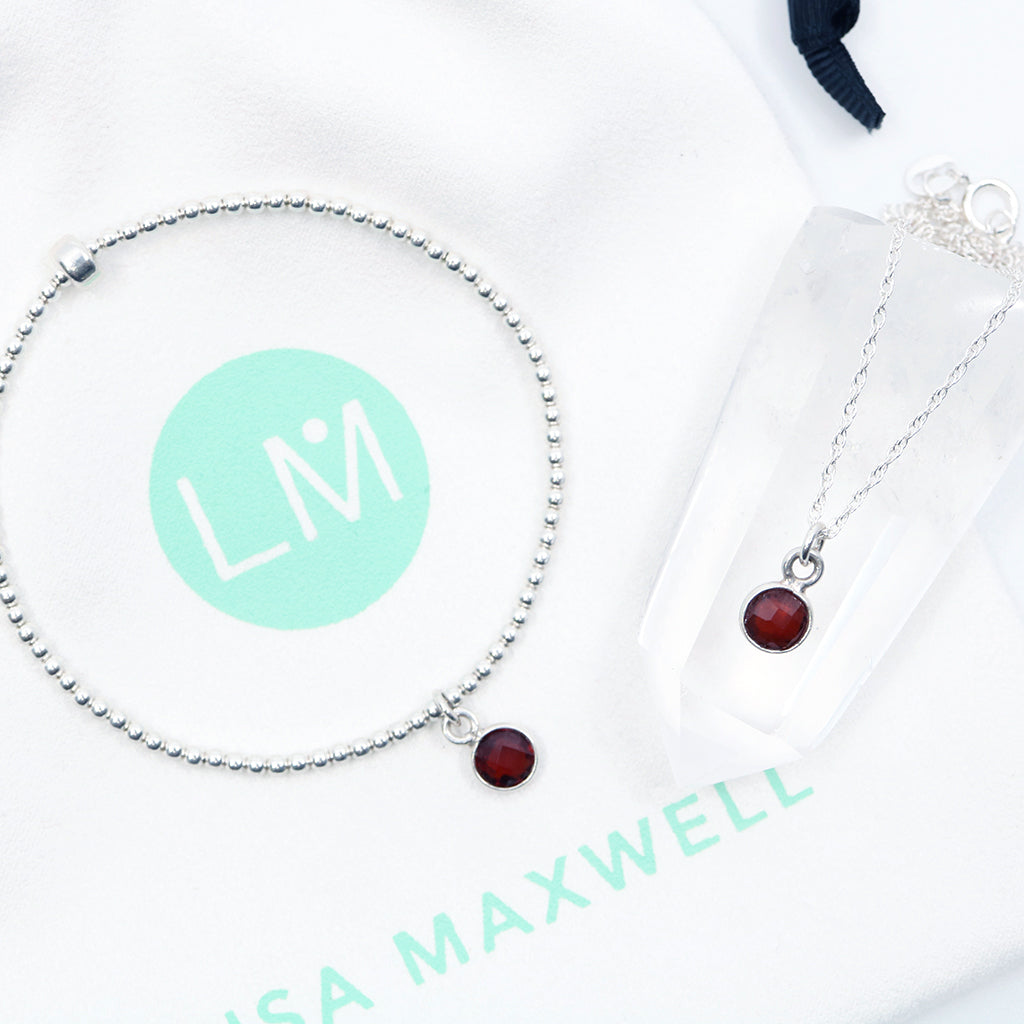 Charmed with Strength Mini Gift Set | Garnet
