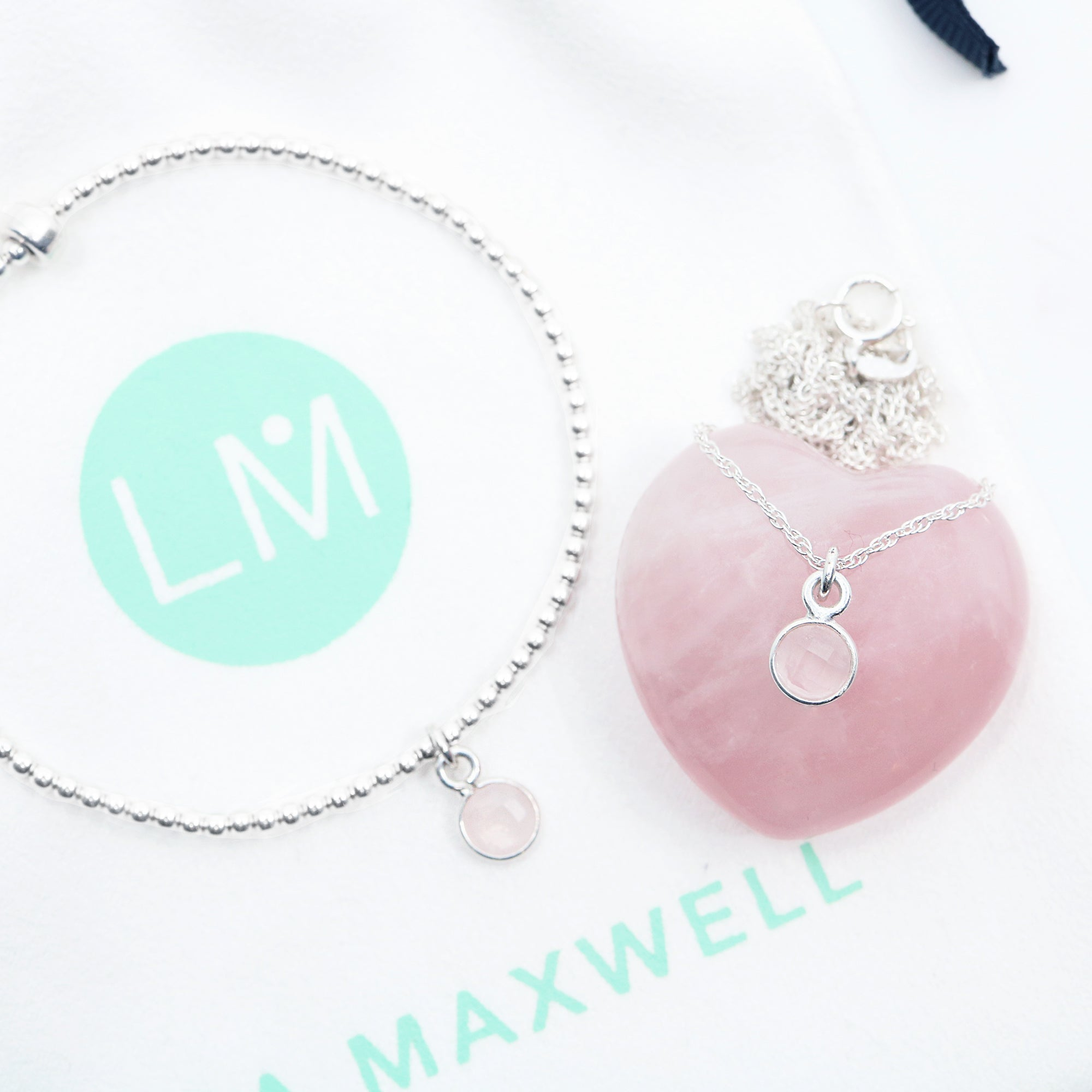 Charmed in Love Mini Gift Set | Rose Quartz