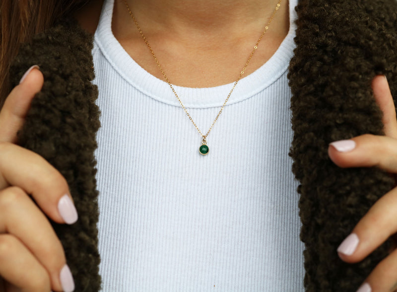 Charmed by Emerald MINI | Emerald and Gold
