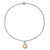 Charmed with Abundance Mini Bracelet | Citrine and Silver
