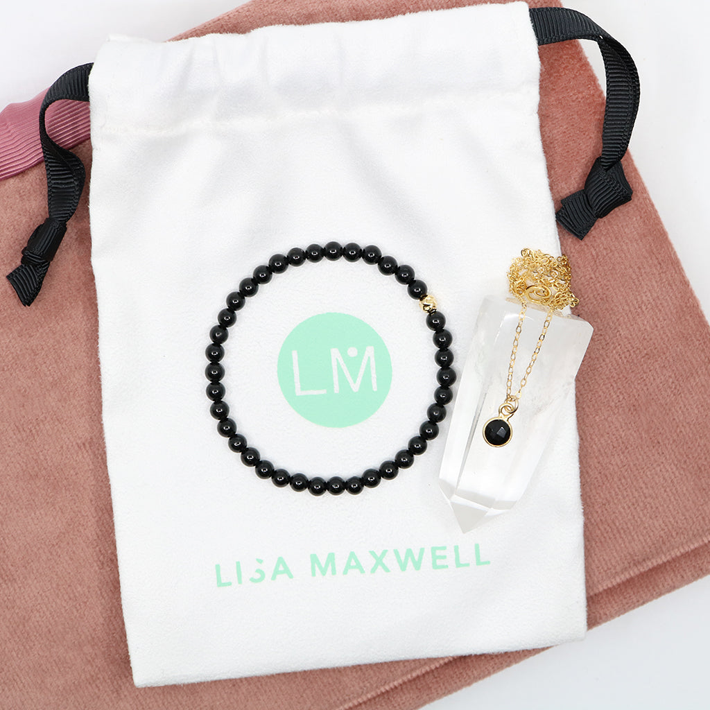 Charmed and Protected Gift Set | Onyx