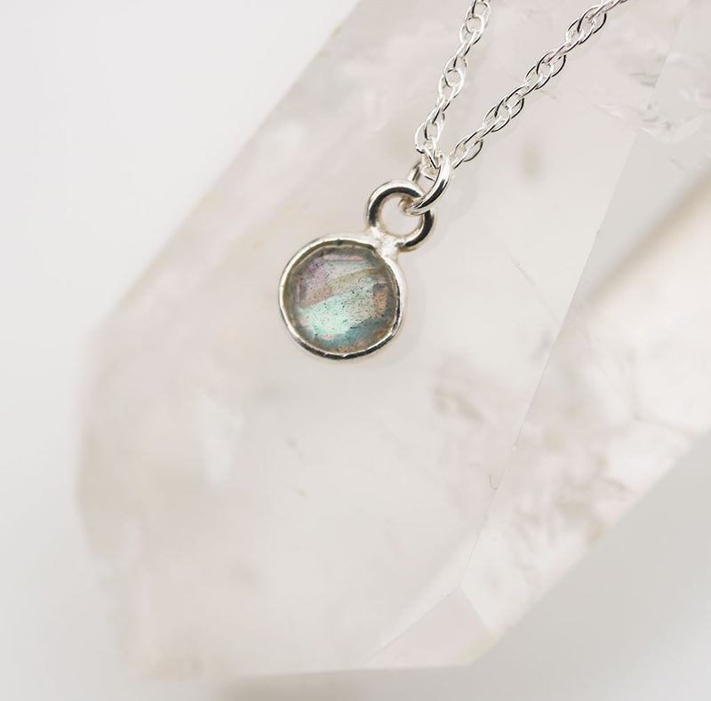 Charmed and Enchanted MINI | Labradorite and Silver