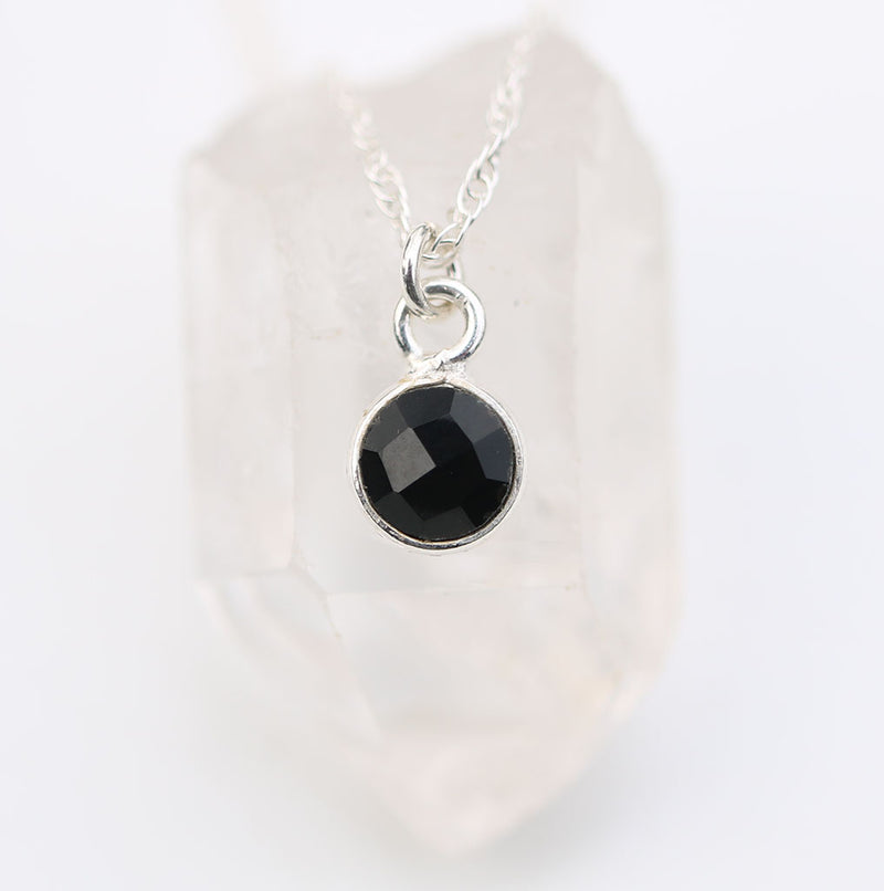 Charmed and Protected MINI | Onyx and Silver