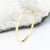 Dainty Gold Hammered Ring