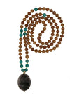 Smoky Quartz and Russian Amazonite Mala