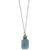 Nautical and Nice Necklace | Aquamarine and Silver