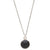 Charmed and Protected Necklace | Onyx and Silver