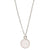 Charmed in Love Necklace | Rose Quartz and Sterling Silver