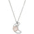 Lovebeam Necklace | Rose Quartz and Silver