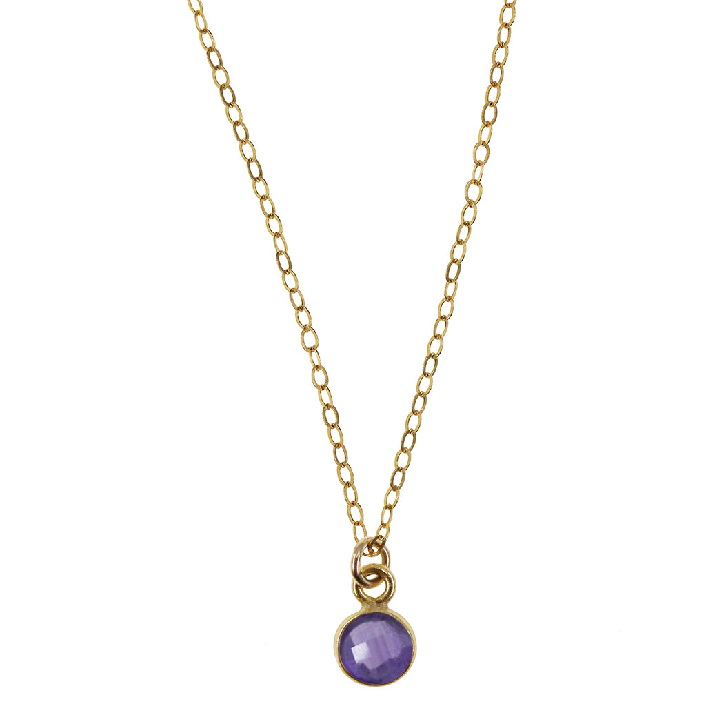 Charmed Dreamer Mini | Amethyst and Gold