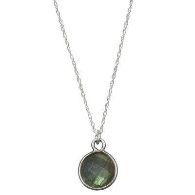 Charmed and Enchanted Necklace | Labradorite and Silver