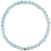 Dainty Nautical Bracelet | Aquamarine