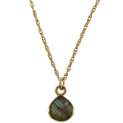 Charmed with Magic Necklace | Labradorite and Gold
