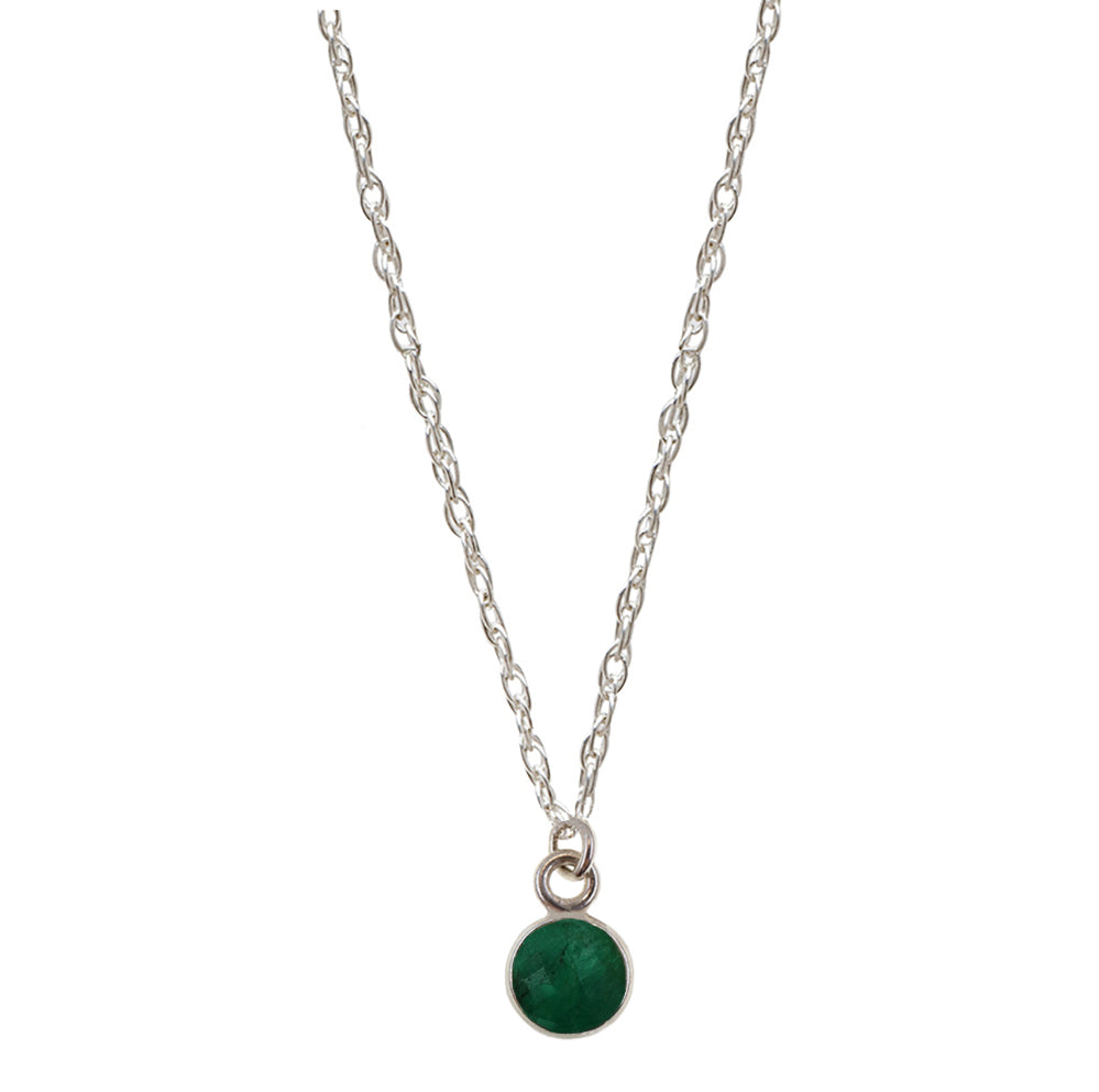 Charmed by Emerald Mini | Emerald and Silver