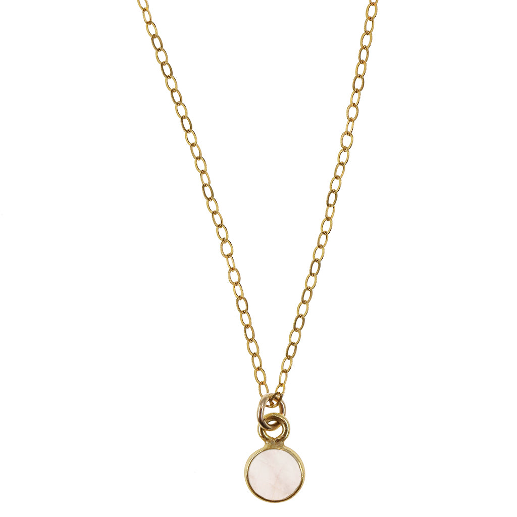 Charmed in Love Mini | Rose Quartz and Gold