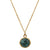 Emerald Solstice Necklace | Emerald and Gold