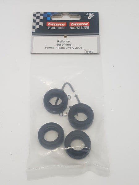 Carrera 132 accessories 'F1 tires 2008 livery'   89560
