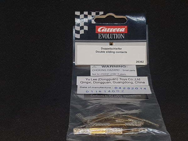 Carrera Double sliding contacts 26362 (for limited models )